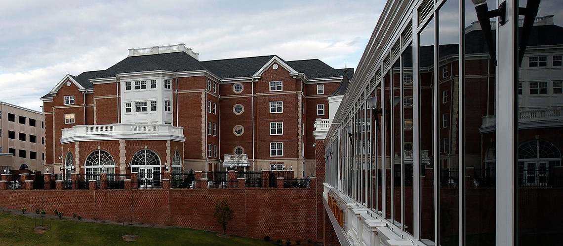 UMW Eagle Village, Wed. Feb. 1, 2012. (Photo by Norm Shafer).